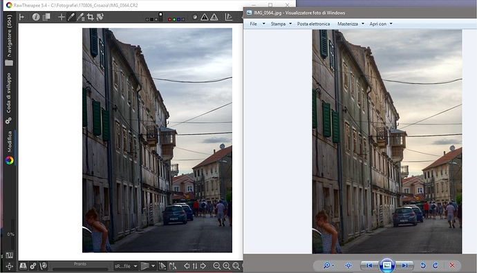 color mismatch when using HDR - RawTherapee - discuss pixls us