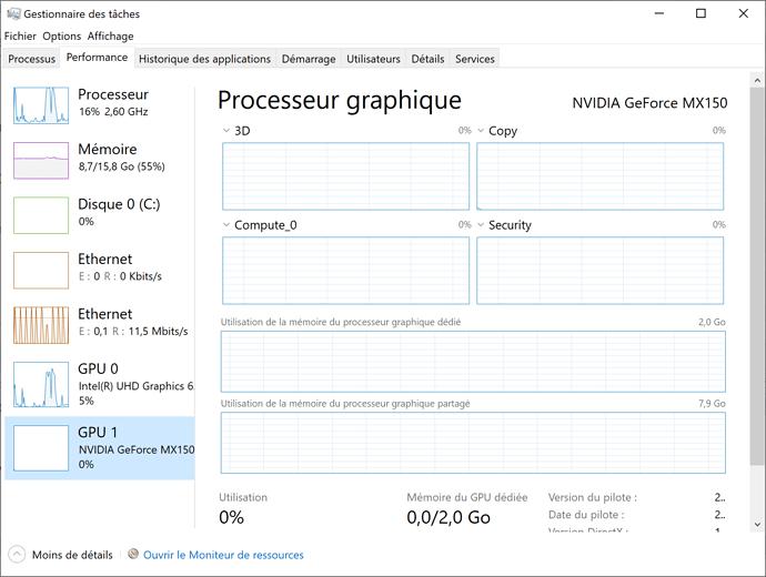 Windows 10 running Darktable not using PC at full capacity
