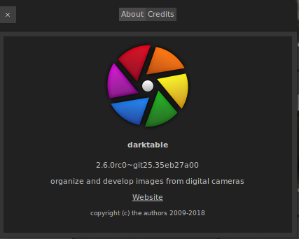 darktable 2 6 0rc0 released | darktable