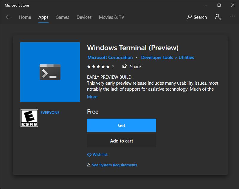 Windows Terminal - Lounge - discuss pixls us