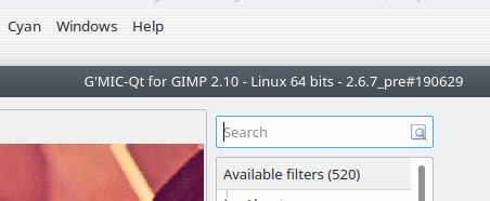 gmic_gimp_qt ver  2 6 7 - G'MIC - discuss pixls us
