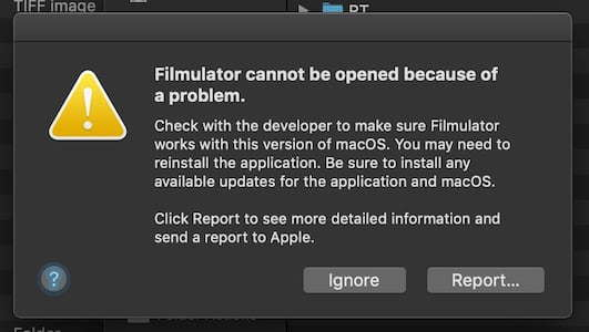 The 5th beta test of Filmulator 1 0 0 for macOS 10 10+ is here